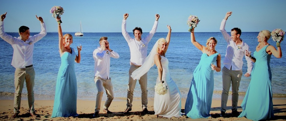 Beach Wedding - The Cutting Portsea